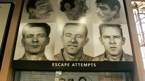 An exhibit about a 1962 prison escape made