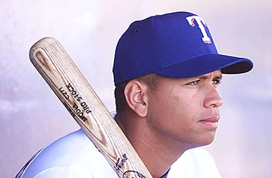 In three seasons with the Texas Rangers, Alex