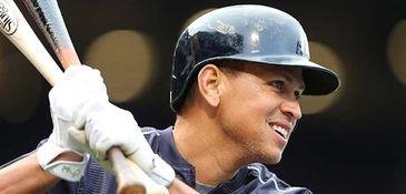 Alex Rodriguez of the New York Yankees prepares