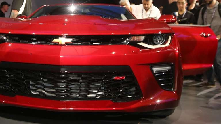 The 2016 Chevrolet Camaro is one of the