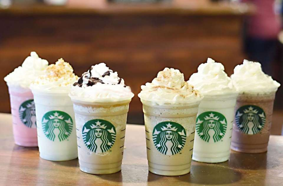 Fan-favorite Frappuccinos, Starbucks