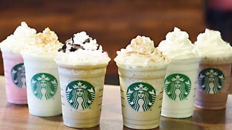 Starbucks is now offering six new Frappuccinos based
