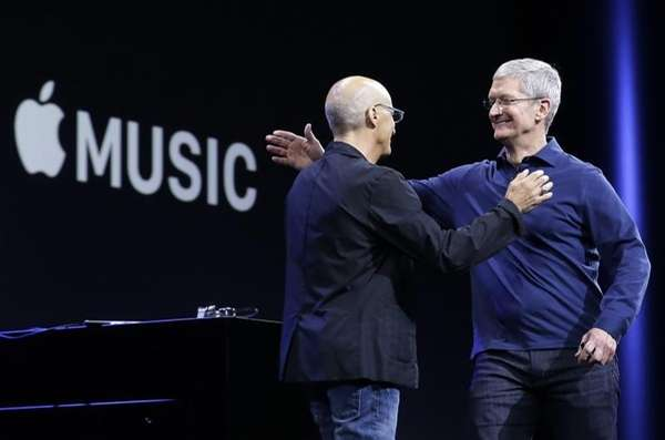 Apple Music was available as of June 30,