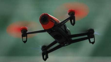 Huntington officials are considering regulating drones, like the