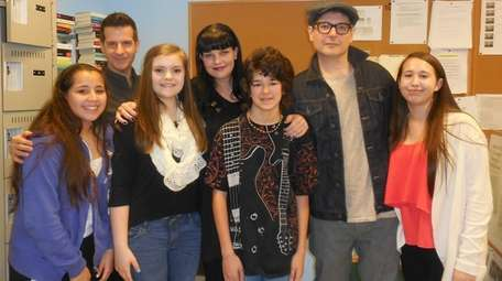 Kidsday reporters met author and actress Pauley Perrette,