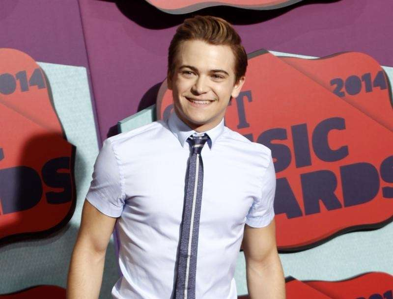Hunter Hayes at the CMT Music Awards at