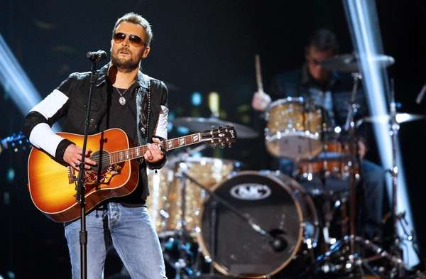 Eric Church performs at the American Country Countdown