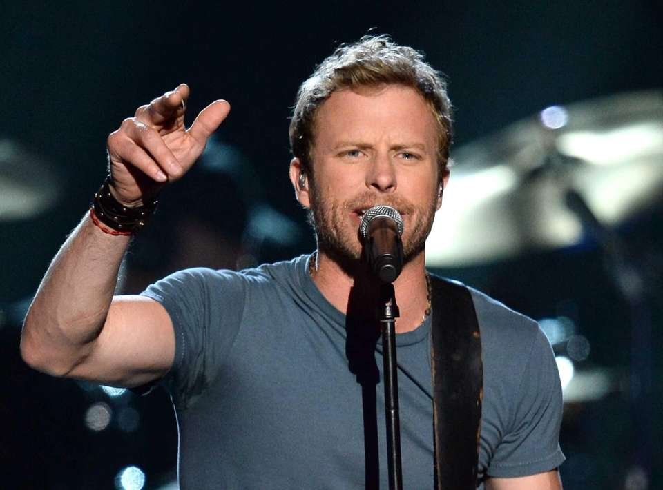 Dierks Bentley performs on stage during ACM Presents: