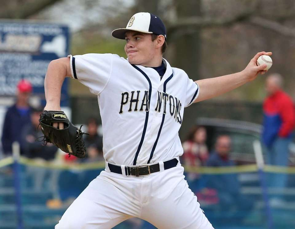 P.J. Weeks, Bayport-Blue PointPitcher