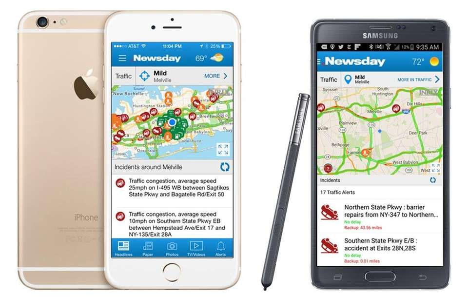 Our new traffic map lets you see up-to-the-minute