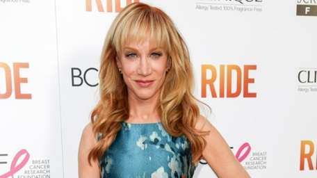 Kathy Griffin arrives at the premiere of