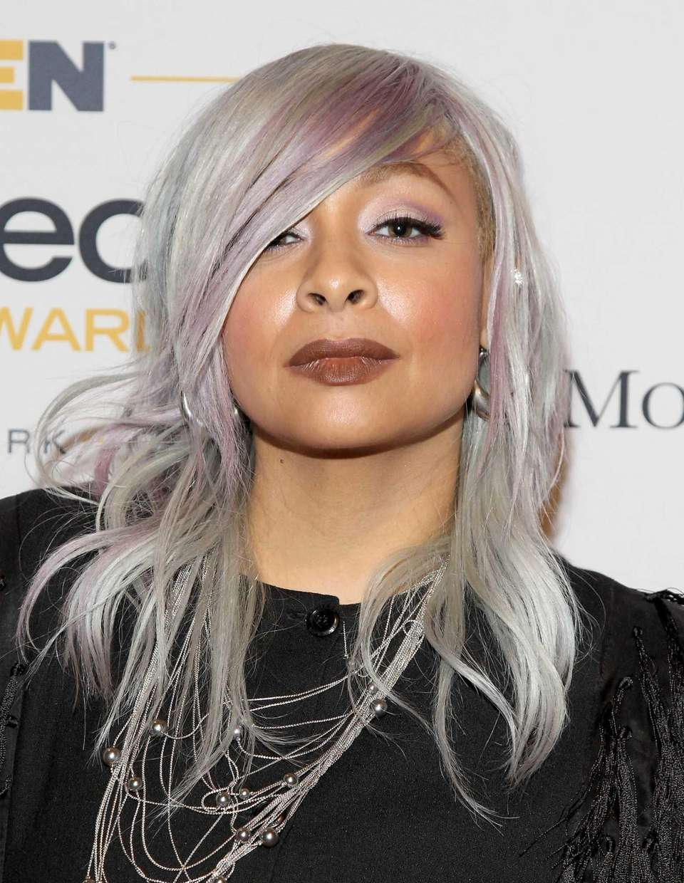 Actress Raven-Symoné was a co-panelist of