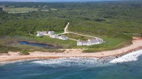 The celebrity compound in Montauk once owned by