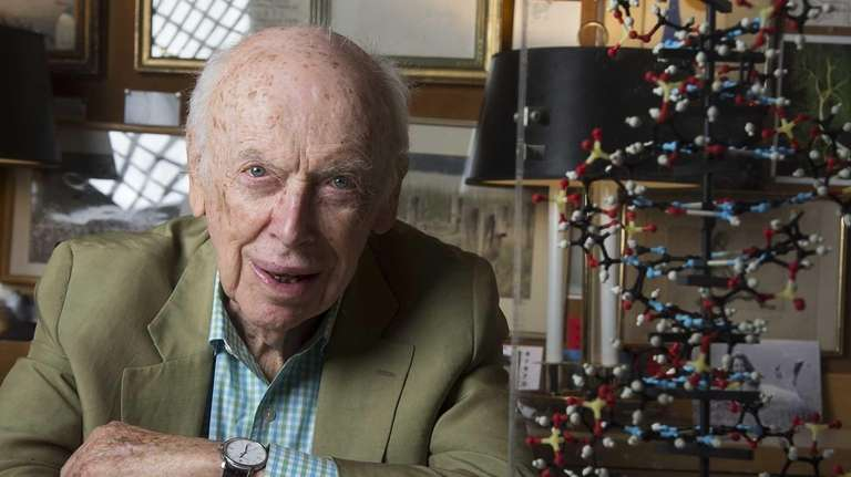 Dr. James Watson, co-discoverer of DNA's double helix,