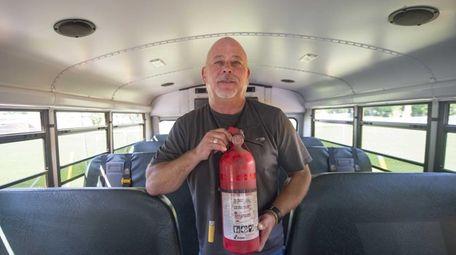 Paul Ziring, special education outdoor education coordinator for