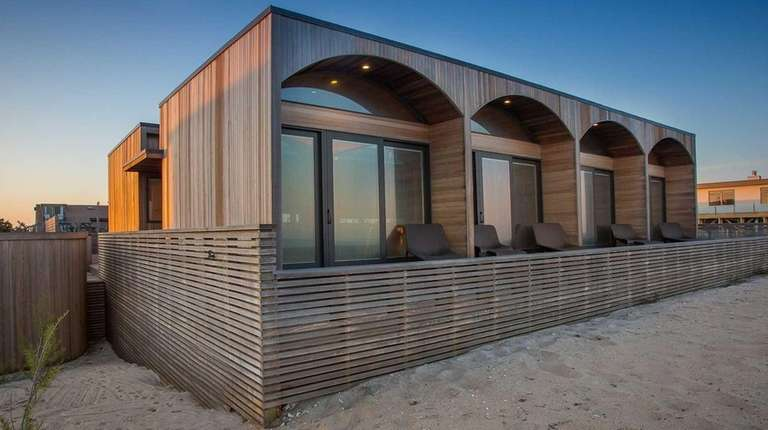 A fully furnished Fire Island house designed by