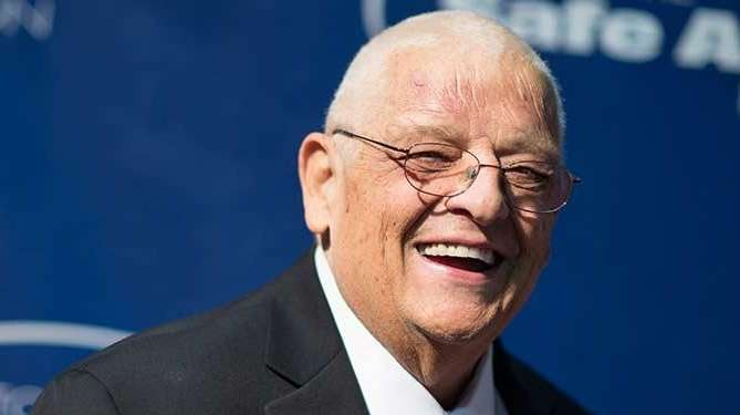 Pro wrestling hall of famer Dusty Rhodes attends