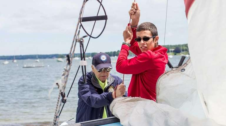 As a longtime sailor, Kilian Duclay, a senior