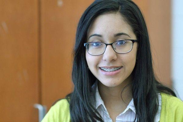 Diana Guzman, 19, is a graduating senior at