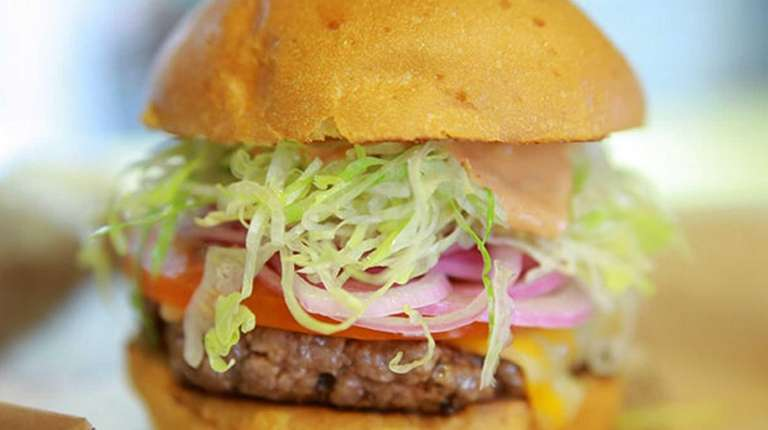 At Bareburger, burgers are made from free-range, pasture-raised