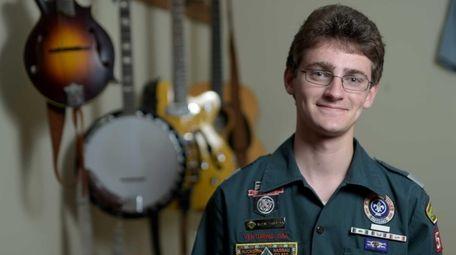 David Wolmark, a senior at Paul D. Schreiber