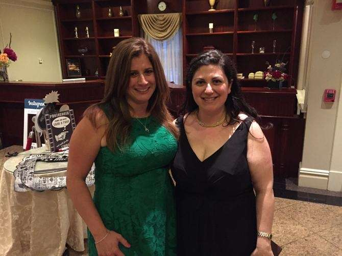 Mineola High School teachers Jen Honerkamp and Bette