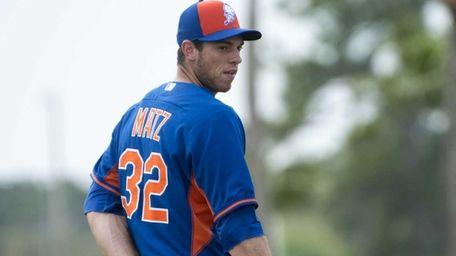 Steven Matz, 23, was born in Stony Brook