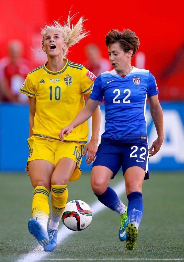 WINNIPEG, MB - JUNE 12: Sofia Jakobsson #10