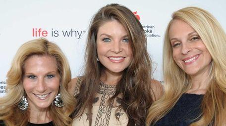 From left, Randi Schatz, Nicole Noonan and Consuelo