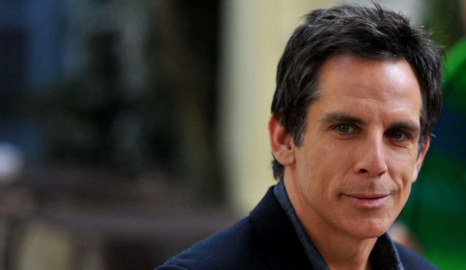 Ben Stiller was bitten on the face by