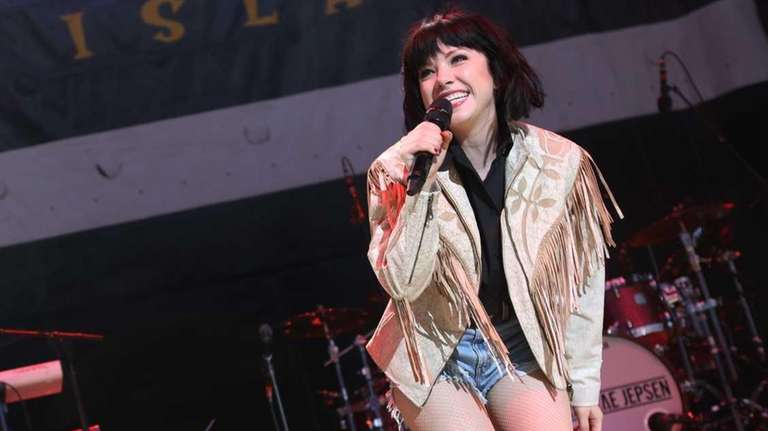 Carly Rae Jepsen performs at the WBLI Summer