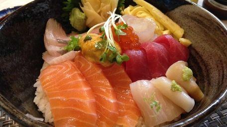 Chirashi is on the menu at Hana Japanese