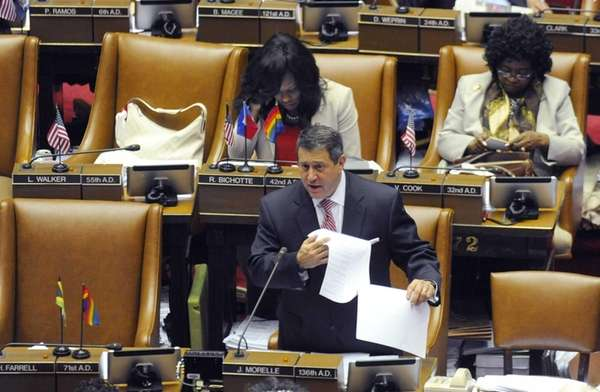 New York Assembly Majority Leader Joseph Morelle, D-Rochester,