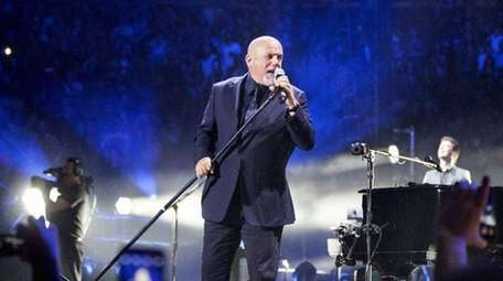 Billy Joel performs at Madison Square Garden as