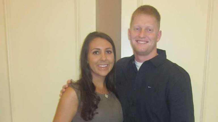 Ashley and Chris Salerno first began dating in