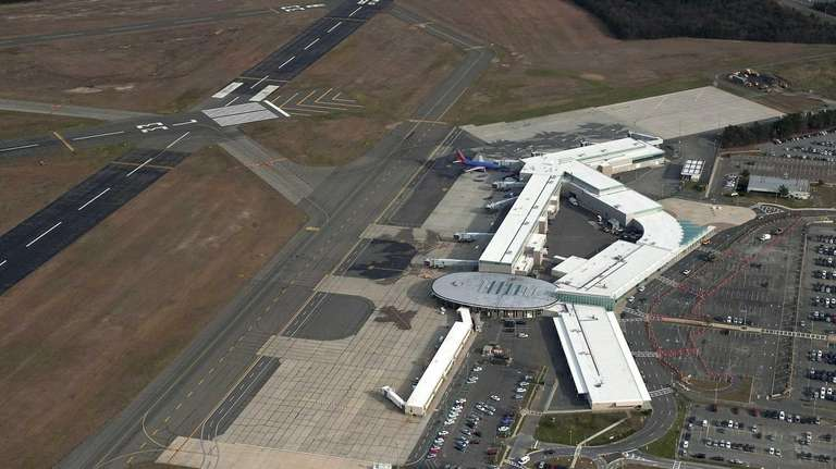 Long Island MacArthur Airport is hoping in June