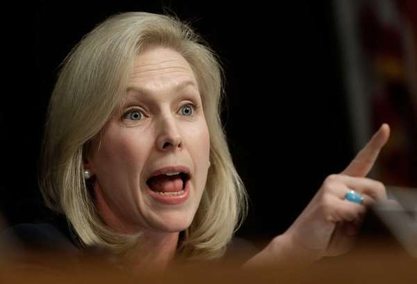 Sen. Kirsten Gillibrand is seen in this undated
