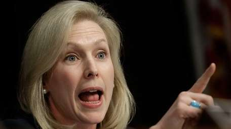 Sen. Kirsten Gillibrand is seen in this undated