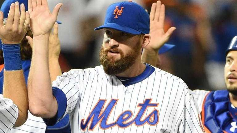 The New York Mets, including relief pitcher Bobby