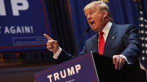 Donald Trump announces on June 16, 2015, in