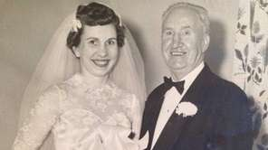Anne Skidmore and her father, Joseph E. McCarty.