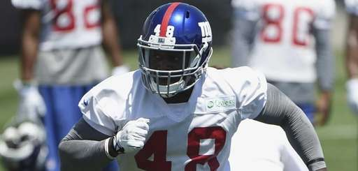 New York Giants tight end Will Tye #48