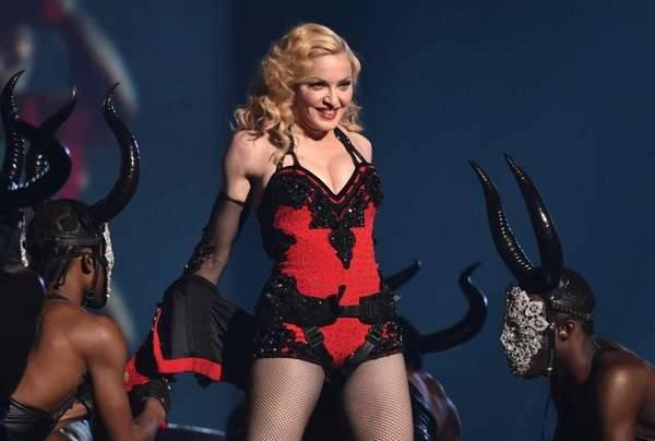 Madonna has recruited Beyonce, Kanye West, Miley Cyrus