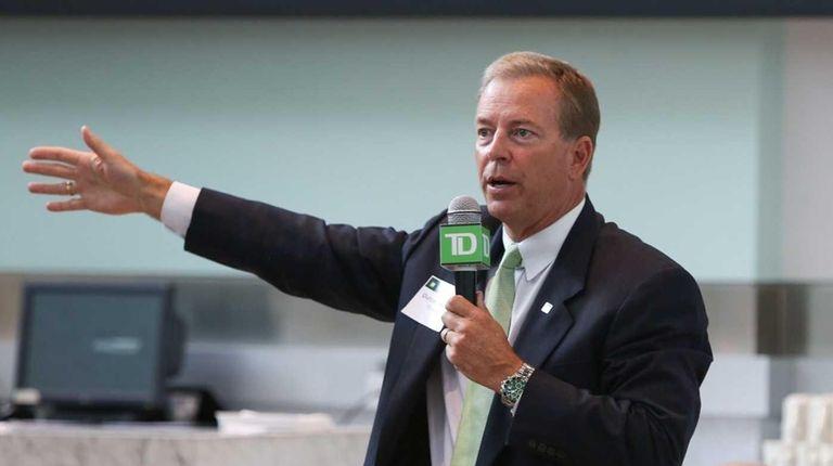Duncan Swezey, managing director at TD Securities, addresses
