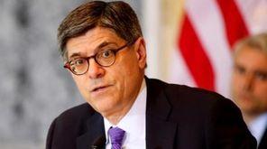 Treasury Secretary Jacob Lew appears in Washington, D.C.