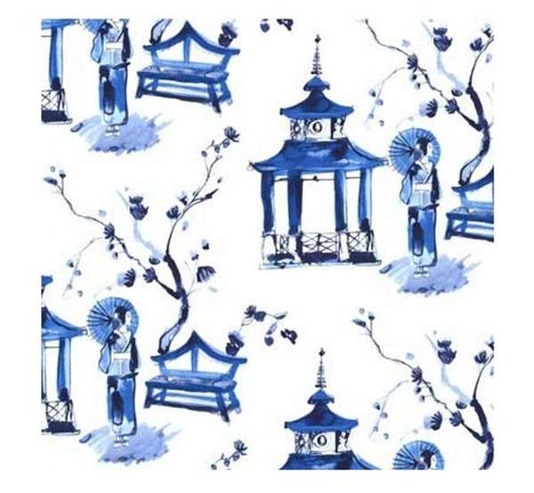 The Michael Miller Blue, a fabric (sold as