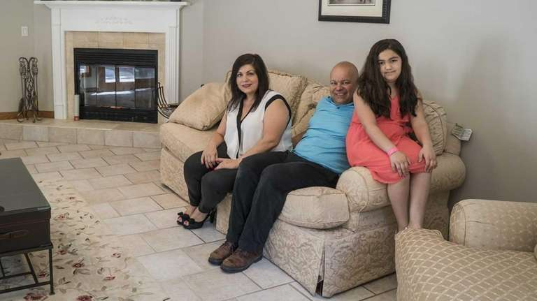 Maria and Anthony Ghersi with their daughter, Valentina,