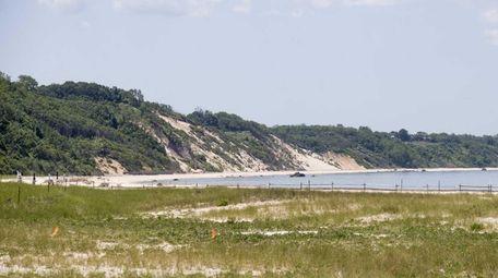 Breakwater Beach District Park in Mattituck on June