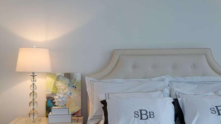 A beautifully redecorated master bedroom in an Atlantic