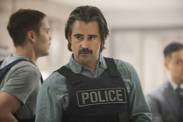 Colin Farrell portrays Detective Ray Velcoro in the